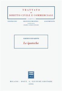 Libro Le ipoteche Alberto Ravazzoni
