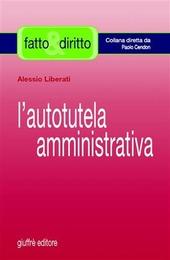 L' autotutela amministrativa