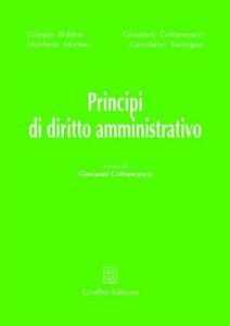 Principi di diritto amministrativo - copertina