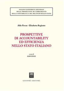 Libro Prospettive di accountability ed efficienza nello Stato italiano