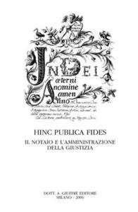 Hinc publica fides