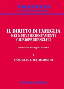 Libro Il diritto di famiglia nei nuovi orientamenti giurisprudenziali. Vol. 1: Famiglia e matrimonio.