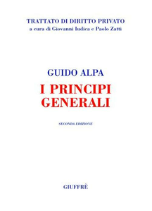 Libro I principi generali Guido Alpa