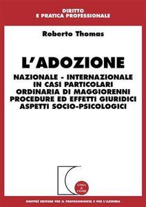 Libro L' adozione Roberto Thomas