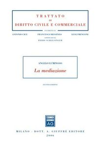 Libro La mediazione Angelo Luminoso