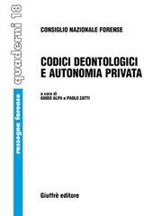 Codici deontologici e autonomia privata