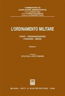 Premioquesti.it L' ordinamento militare. Vol. 1: Fonti, organizzazione, funzioni, mezzi. Image