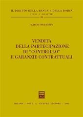 Vendita della partecipazione di «controllo» e garanzie contrattuali
