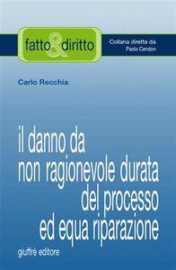 Libro Il danno da non ragionevole durata del processo ad equa riparazione Carlo Recchia