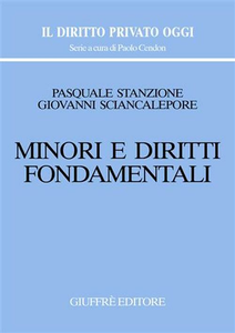 Libro Minori e diritti fondamentali Pasquale Stanzione , Giovanni Sciancalepore
