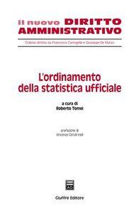 Foto Cover di L' ordinamento della statistica ufficiale, Libro di  edito da Giuffrè