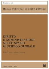 Diritto e amministrazioni nello spazio giuridico globale