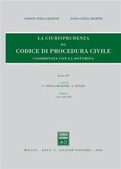 Rassegna di giurisprudenza del Codice di procedura civile. Vol. 4/1: Artt. 633-705.