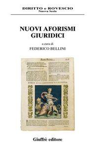 Foto Cover di Nuovi aforismi giuridici, Libro di  edito da Giuffrè