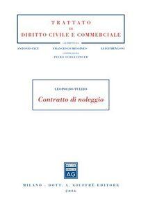 Foto Cover di Contratto di noleggio, Libro di Leopoldo Tullio, edito da Giuffrè