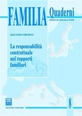 La responsabilità contrattuale nei rapporti familiari