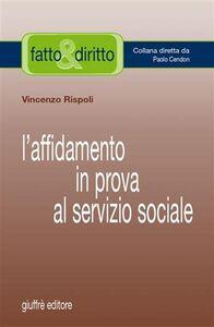 Foto Cover di L' affidamento in prova al servizio sociale, Libro di Vincenzo Rispoli, edito da Giuffrè