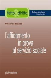 L' affidamento in prova al servizio sociale