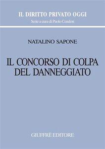 Libro Il concorso di colpa del danneggiato Natalino Sapone
