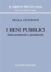 I beni pubblici. Tutela amministrativa e giurisdizionale