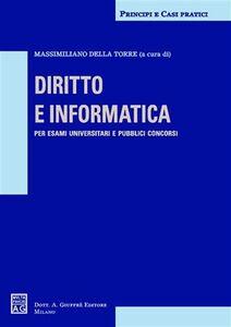 Foto Cover di Diritto e informatica, Libro di  edito da Giuffrè