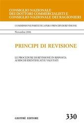 Principi di revisione. Documento 330. Le procedure di revisione in risposta ai rischi identificati e valutati