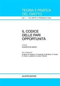 Libro Il codice delle pari opportunità