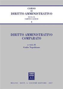 Libro Diritto amministrativo comparato