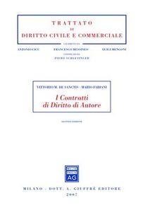 Libro I contratti di diritto di autore Vittorio M. De Sanctis , Mario Fabiani
