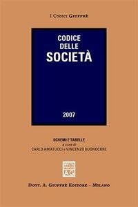 Libro Codice delle società