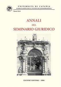 Libro Annali del Seminario giuridico (2004-2005)