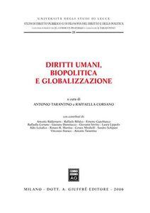 Libro Diritti umani, biopolitica e globalizzazione