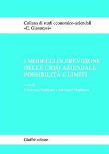 Librisulladiversita.it I modelli di previsione delle crisi aziendali: possibilità e limiti Image