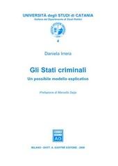 Gli stati criminali. Un possibile modello esplicativo
