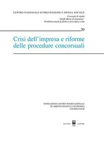 Libro Crisi dell'impresa e riforme delle procedure concorsuali