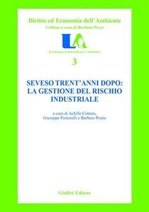 Libro Seveso trent'anni dopo: la gestione del rischio industriale