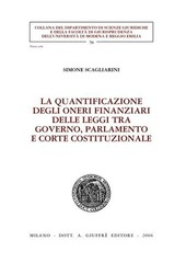 La quantificazione degli oneri finanziari delle leggi tra governo, parlamento e Corte costituzionale
