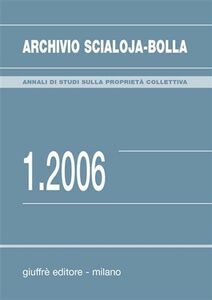 Libro Archivio Scialoja-Bolla (2006). Vol. 1