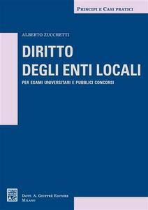 Libro Diritto degli enti locali Alberto Zucchetti
