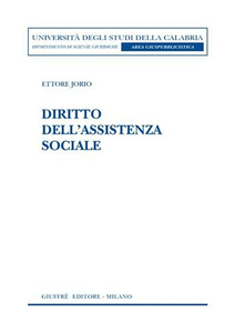 Libro Diritto dell'assistenza sociale Ettore Jorio