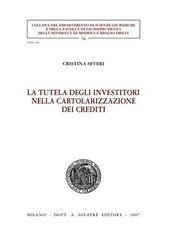 La tutela degli investitori nella cartolarizzazione dei crediti
