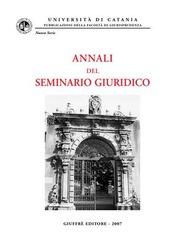 Annali del Seminario giuridico (2005-2006)