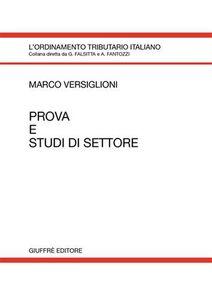 Libro Prova e studi di settore Marco Versiglioni