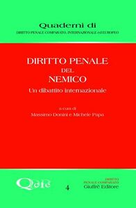 Foto Cover di Diritto penale del nemico. Un dibattito internazionale, Libro di  edito da Giuffrè