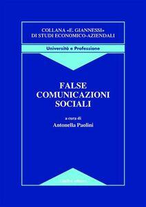 Libro False comunicazioni sociali