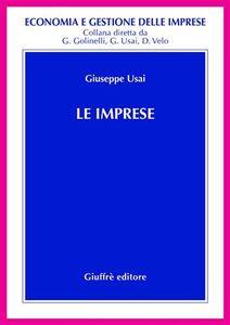 Foto Cover di Le imprese, Libro di Giuseppe Usai, edito da Giuffrè