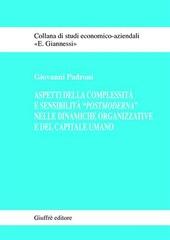 Aspetti della complessità e sensibilità «postmoderna» nelle dinamiche organizzative e del capitale umano