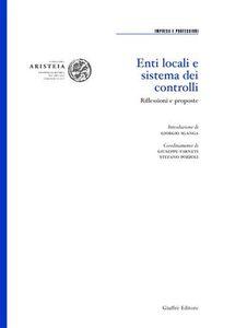 Libro Enti locali e sistema dei controlli. Riflessioni e proposte