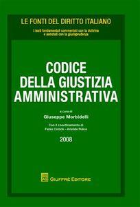 Libro Codice della giustizia amministrativa