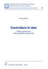 Controllare le idee. Profili costituzionali della pubblicità commerciale